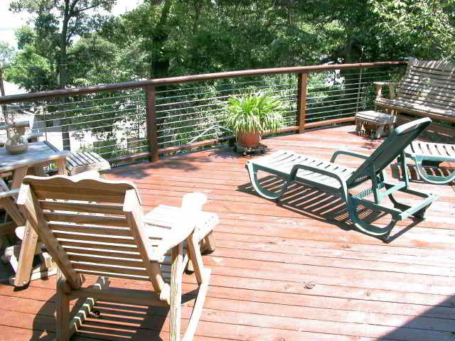 Ultra-tec Deck Cable Railing modern-home-fencing-and-gates