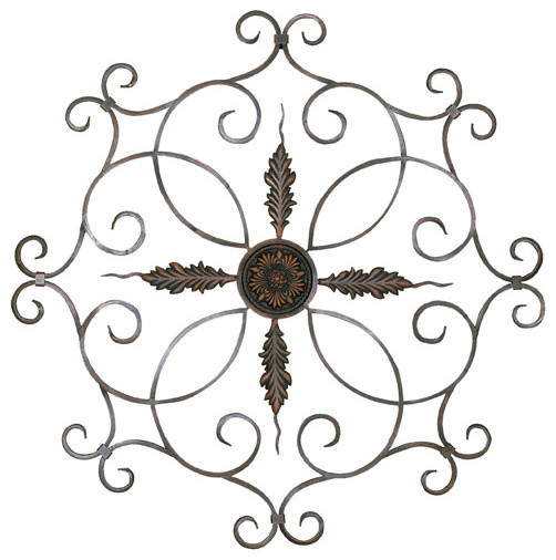 Wall Decor Home Accents : Medallion wall decor traditional decals by