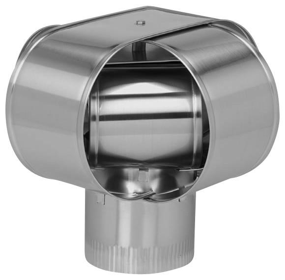 "9"" Home Saver Windbeater Stainless Steel Cap, 24-Ga modern-fireplace-accessories"