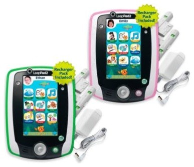 LeapFrog LeapPad2 Power Learning Tablet contemporary-kids-toys-and-games