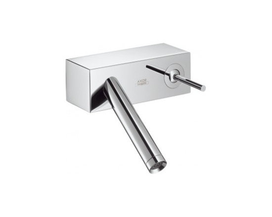 Hansgrohe Axor Starck X Wall-Mounted Single-Handle Faucet 10074001 - Convenient single lever operation