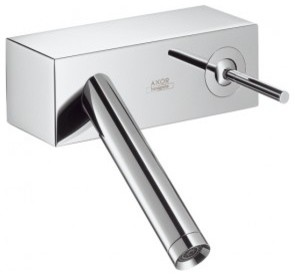 Hansgrohe Axor Starck X Wall-Mounted Single-Handle Faucet 10074001 modern-bathroom-faucets
