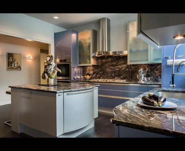 Renovation contemporary-kitchen