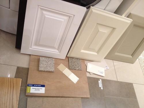 Cream or White kitchen cabinets?