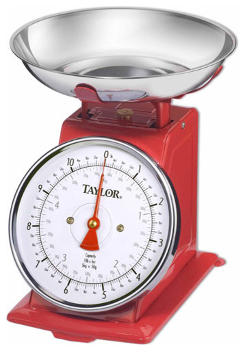 Kitchen Scale, Stainless Steel traditional-kitchen-scales