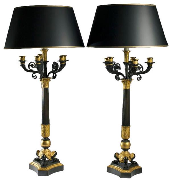 93 candelabra lamps
