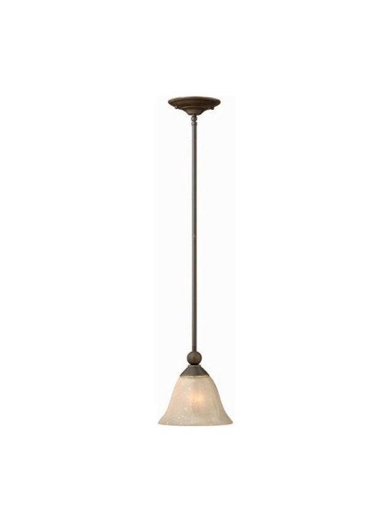 Hinkley Lighting 4667OB Mini-Pendant Bolla Collection -