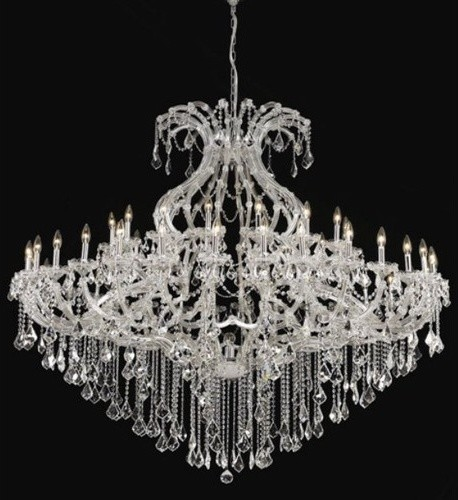 Maria Theresa 49 Light Chandelier with Chain modern-chandeliers