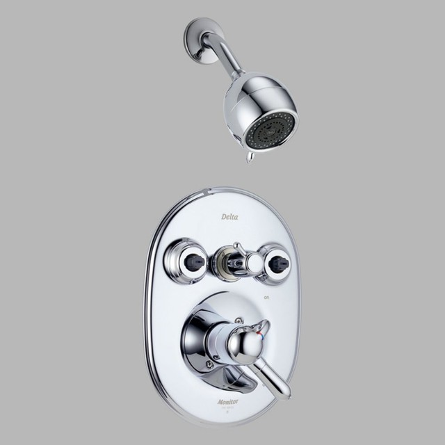 Delta innovations t18230 monitor 18 series jetted shower Shower innovations