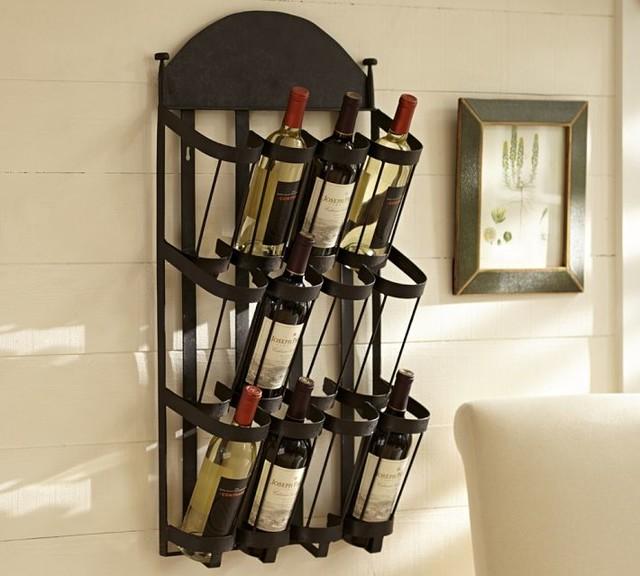wine wall rack decor