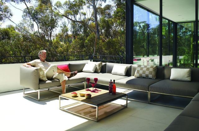 Gloster Outdoor Furniture Modern Sofas Melbourne By Cosh Living Designer