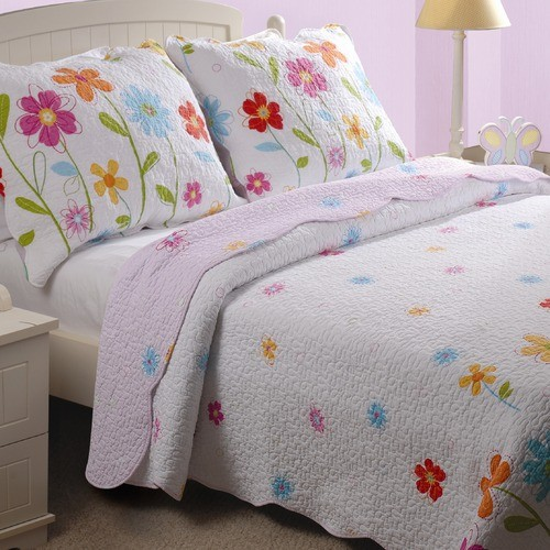 Growing Flowers Quilt Set modern-quilts