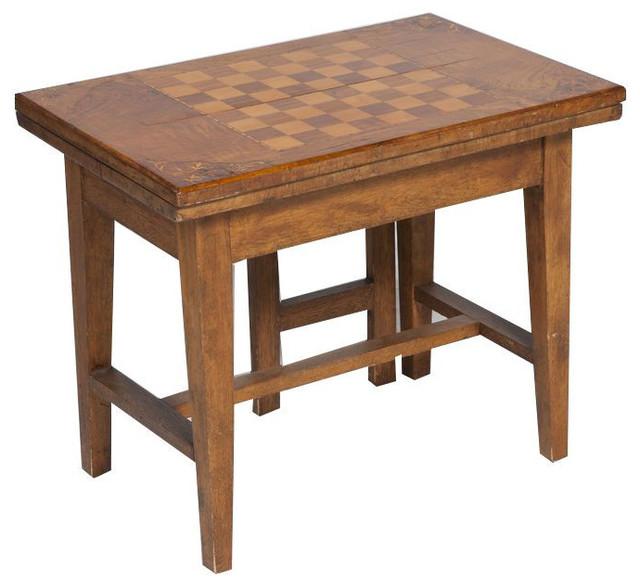 Antique Flip Top Game Table 1500 Est Retail 399 On