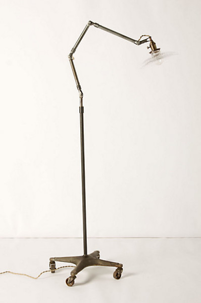 Glass-Shade Lamp - contemporary - floor lamps - by Anthropologie