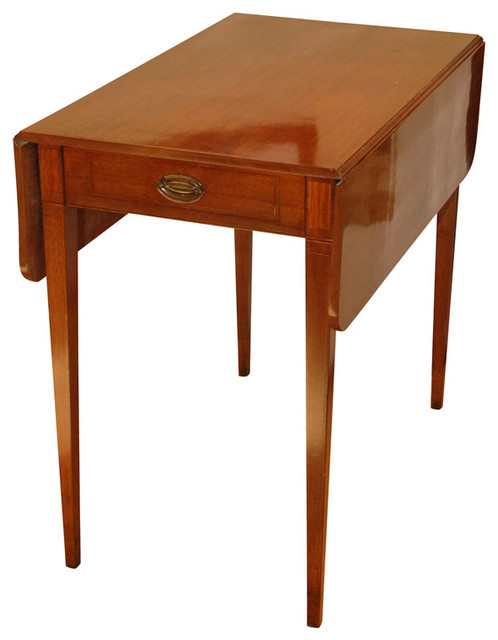 Pembroke Table Side Tables And End Tables san  :  side tables and accent tables from www.houzz.com size 498 x 640 jpeg 44kB