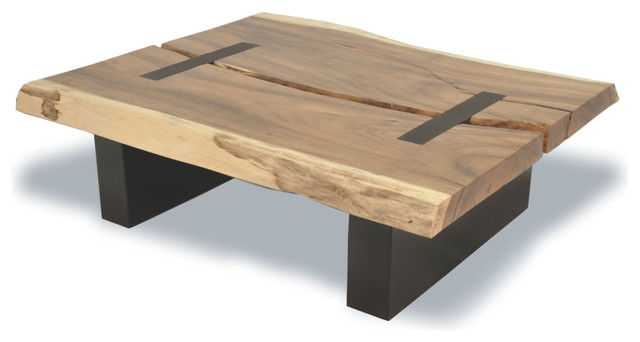 Reclaimed Tamburil Toco Coffee Table Contemporary