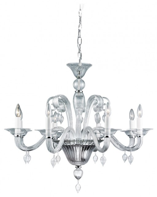 Ciatura 8 Light Chandelier traditional chandeliers