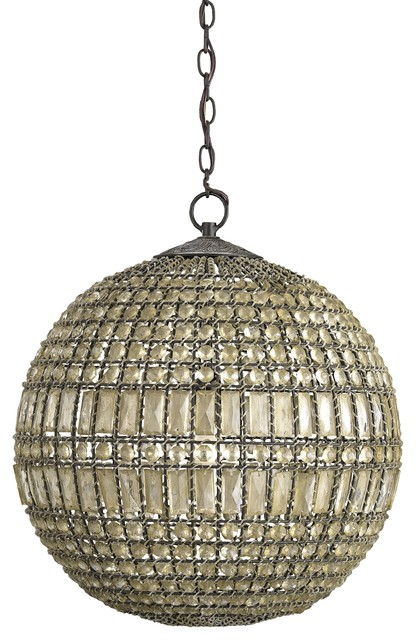 Currey and Company Portico Pendant traditional-pendant-lighting