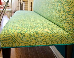Banquette Bench contemporary upholstery fabric