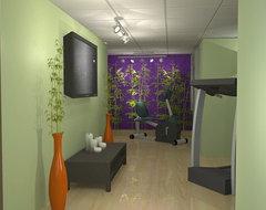 Zen / Exercise Room contemporary