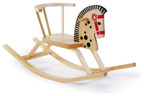 Classic Baltic Rocking Horse modern-kids-toys-and-games