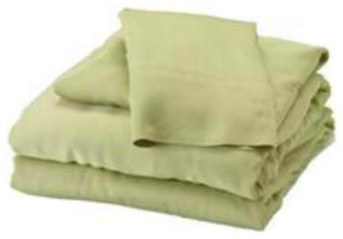 Bamboo Full Sheet Set, Sage sheets
