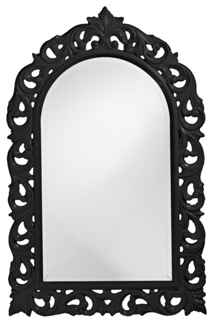 """Traditional Howard Elliott Orleans 47"""" High Arched Wall Mirror traditional-mirrors"""
