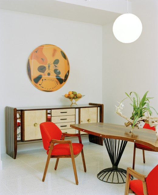 Miami Townhouse modern-dining-room