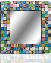 Medium Mosaic Mirror  mirrors