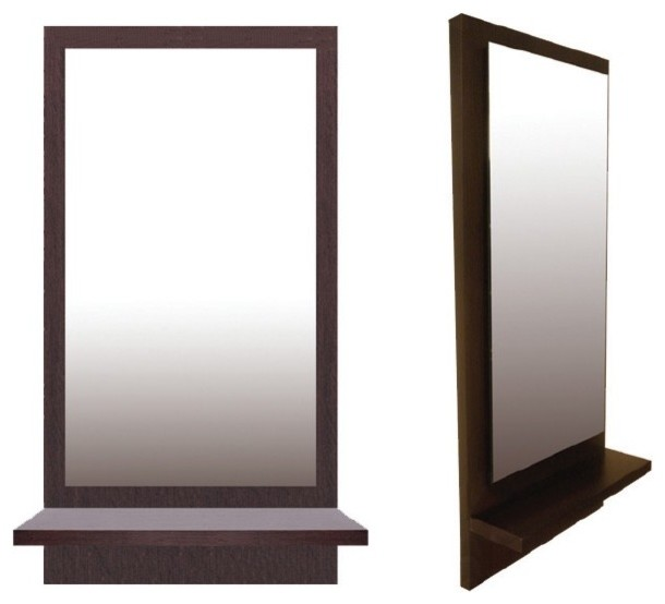 Anna mirror with shelf by sohoconcept contemporary for Mirror with shelf