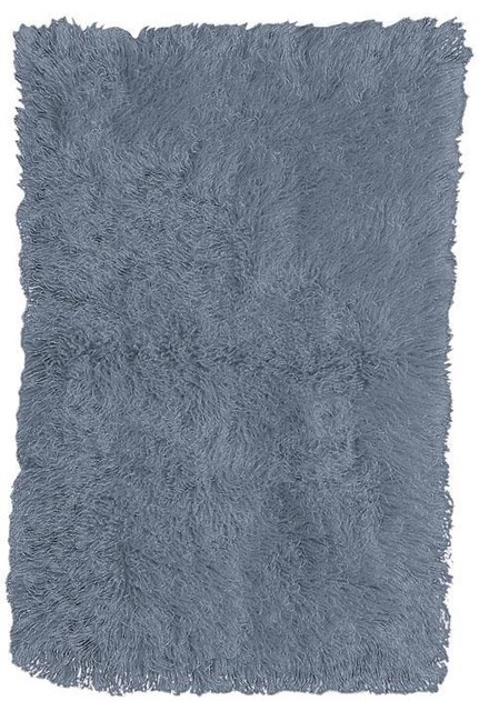 Standard Flokati Area Rug Traditional Rugs by Home