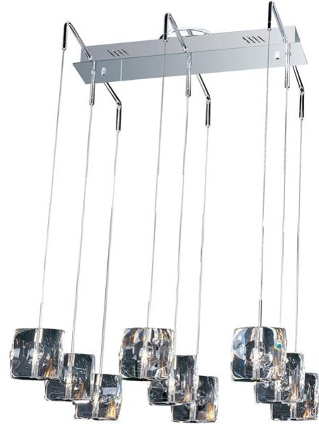 ET2 Lighting E30509-20 9 Light Pendant Neo Collection contemporary-kitchen-lighting-and-cabinet-lighting