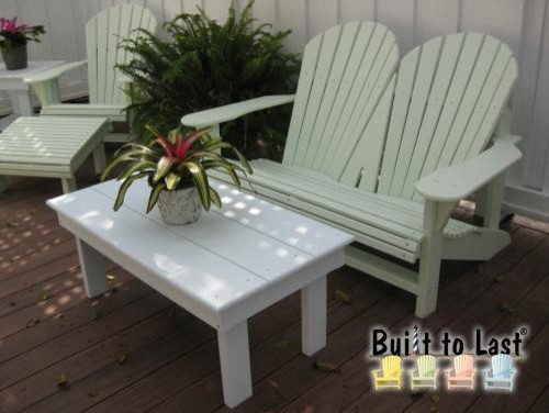 Adirondack Loveseat tropical love seats