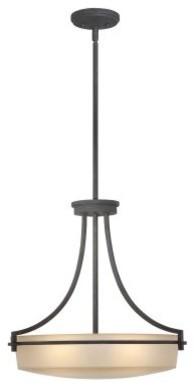 Quoizel Caitlyn CTL2822GK Pendant - 21W in. - Grey Ash modern-ceiling-lighting