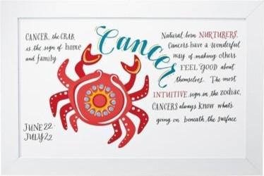 Cancer Zodiac Art traditional-artwork
