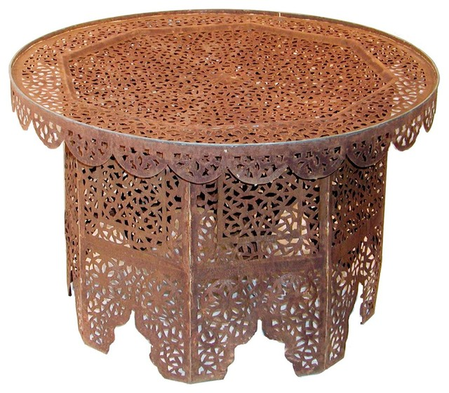Moroccan Iron Lace Coffee Table Coffee Tables By Shades Of Light