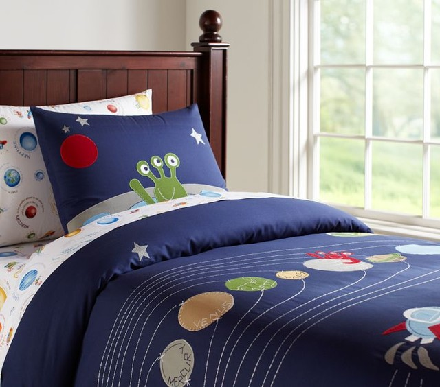 Nathan Duvet Cover Eclectic Kids Bedding By Pottery