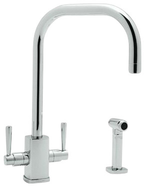 Rohl & Rowe U.4310LS-APC-2 Kitchen Faucet contemporary-kitchen-faucets