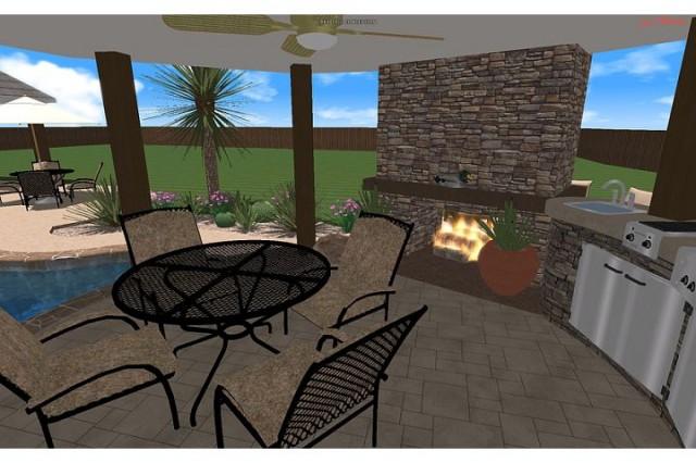 Hardin Residence tropical-rendering