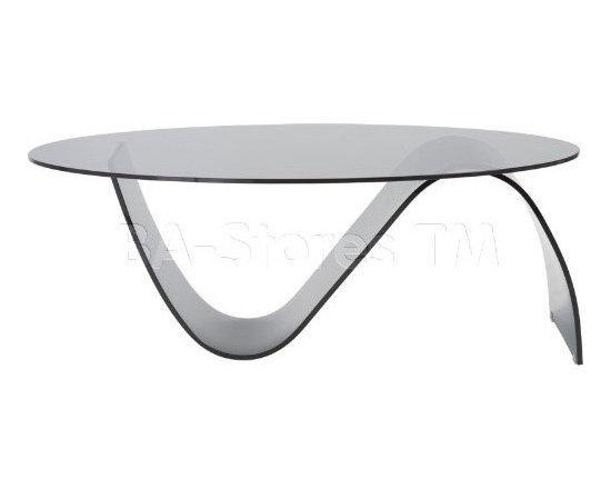 Pandora Smoked Glass Coffee Table -