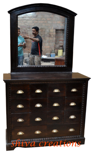 sheesham wood dresser India asian