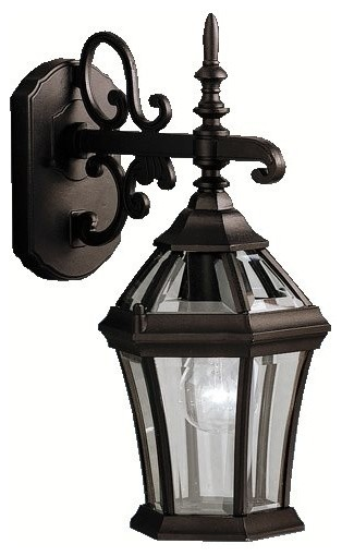 Exterior Wall Sconces Traditional : BUILDER Townhouse Traditional Outdoor Wall Sconce X-KB9879 - Traditional - Outdoor Wall Lights ...