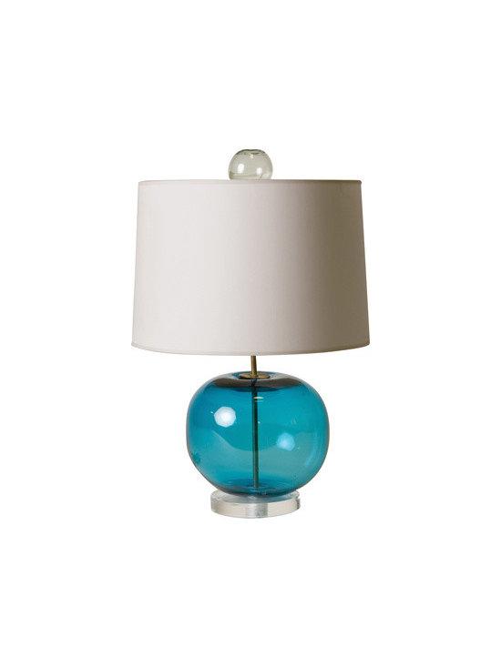 Harrison Glass Lamp -