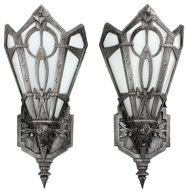 Antique Art Deco Lighting - Eclectic - Wall Sconces - nashville - by Preservation Station