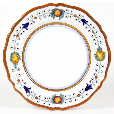 Fruttina Lite: Charger Plate (Simple Decor - Sim) mediterranean-dinner-plates
