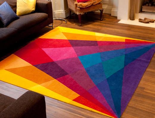 Rainbow Rug Eclectic Area Rugs By Sonya Winner