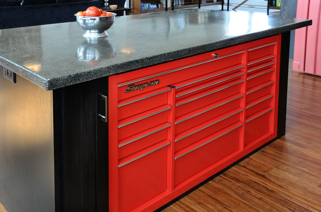 Kitchen Island-Cabinetry - Industrial - Kitchen Cabinetry - other metro - by JG Development, Inc.