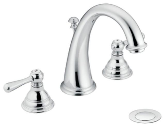 Moen T6125 Kingsley Two Handle Widespread Bathroom Sink