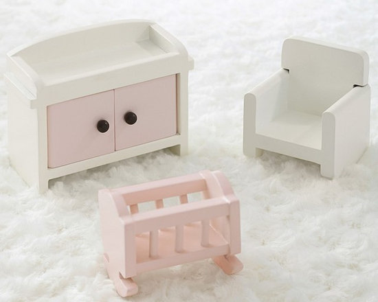 Dollhouse Nursery Set -