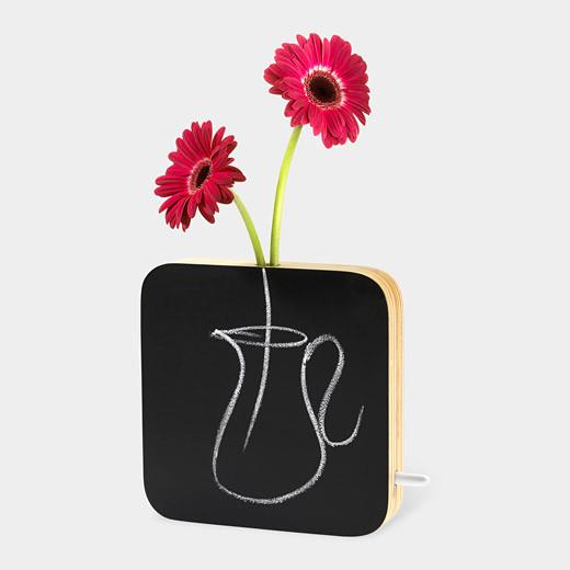 Chalkboard Bud Vase eclectic-vases